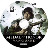 Medal of Honor: Vanguard Wii disc (RMVX69)