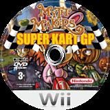 Myth Makers: Super Kart GP Wii disc (RMYXUG)