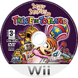 Myth Makers: Trixie in Toyland Wii disc (RMZPUG)