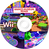 Namco Museum Remix Wii disc (RN2P70)