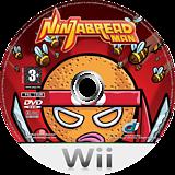 Ninjabread Man Wii disc (RNMPUG)