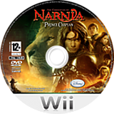 The Chronicles of Narnia: Prince Caspian Wii disc (RNNX4Q)