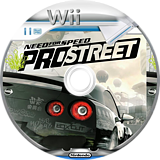 Need for Speed: ProStreet Wii disc (RNPY69)