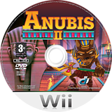 Anubis II Wii disc (RNVXUG)