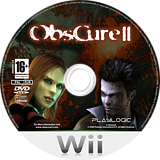 Obscure 2 Wii disc (ROBPPL)