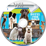 Hotel For Dogs Wii disc (ROEPGT)