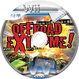 Offroad Extreme! Wii disc (ROFPUG)