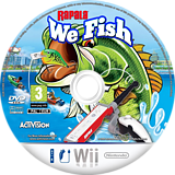Rapala: We Fish Wii disc (ROJP52)
