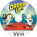 Order Up! Wii disc (ROXX7J)