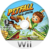 Pitfall: The Big Adventure Wii disc (RPFP52)