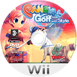 Pangya! Golf With Style Wii disc (RPYP9B)
