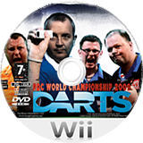 PDC World Championship Darts 2009 Wii disc (RQ3PGN)