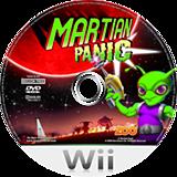 Martian Panic Wii disc (RQ7PXT)