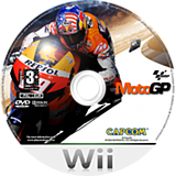 MotoGP Wii disc (RQ8P08)