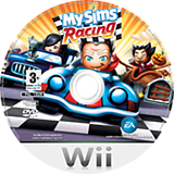 MySims Racing Wii disc (RQGP69)