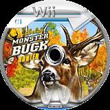 Cabela's Monster Buck Hunter Wii disc (RQPZ52)