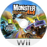Monster 4x4: Stunt Racer Wii disc (RQZP41)