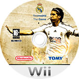 Real Madrid The Game Wii disc (RR7PVP)