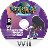 Rock 'N' Roll Adventures Wii disc (RRAPUG)