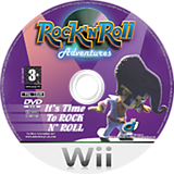 Rock 'N' Roll Adventures Wii disc (RRAXUG)