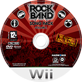 Rock Band Song Pack 2 Wii disc (RRDP69)