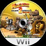 Madagascar 2: Escape 2 Africa Wii disc (RRGP52)