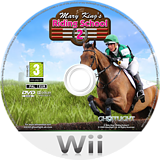 Mary King's Riding School 2 Wii disc (RRHPUJ)