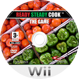 Ready Steady Cook: The Game Wii disc (RRJFMR)