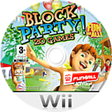 Block Party! 20 Games Wii disc (RRTP52)