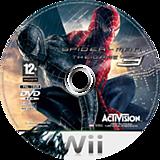 Spider-Man 3 Wii disc (RS3X52)