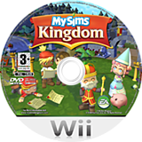 MySims Kingdom Wii disc (RSHP69)