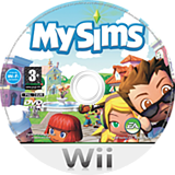 MySims Wii disc (RSIP69)