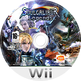 Soulcalibur: Legends Wii disc (RSLPAF)