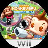 Super Monkey Ball: Banana Blitz Wii disc (RSMP8P)