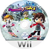 Family Ski Wii disc (RSQPAF)