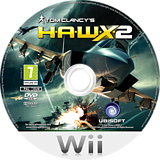 Tom Clancy's H.A.W.X. 2 Wii disc (RTAP41)