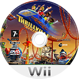 Thrillville: Off The Rails Wii disc (RTVP64)