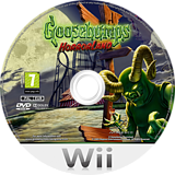 Goosebumps: HorrorLand Wii disc (RUGP5G)