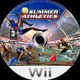 Summer Athletics Wii disc (RUMPFR)