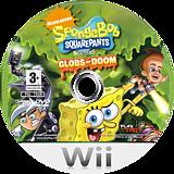 SpongeBob SquarePants featuring Nicktoons: Globs of Doom Wii disc (RUSP78)