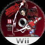 No More Heroes 2: Desperate Struggle Wii disc (RUYP99)