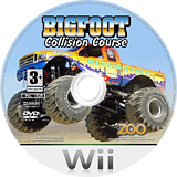 Bigfoot: Collision Course Wii disc (RVFP7J)