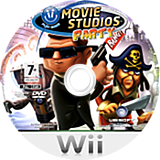 Movie Studios Party Wii disc (RVQP41)