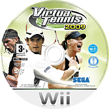 Virtua Tennis 2009 Wii disc (RVUP8P)