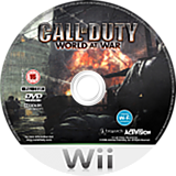 Call of Duty: World at War Wii disc (RVYY52)