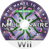 Who Wants To Be A Millionaire: 2nd Edition Wii disc (RW5P41)