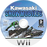 Kawasaki Snow Mobiles Wii disc (RWBXUG)