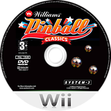 Williams Pinball Classics Wii disc (RWCP6M)