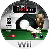 WSC Real 08: World Snooker Championship Wii disc (RWQPSP)