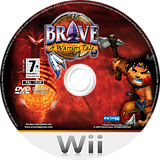 Brave: A Warrior's Tale Wii disc (RWXPS5)